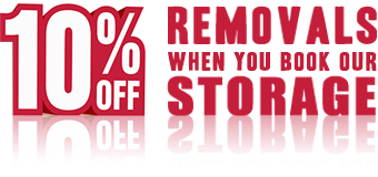 Get 10% Off our Brighton Self Storage cost with our Brighton Removals Service